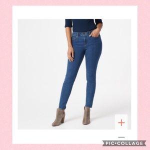 NYDJ Ami Skinny Legging Jeans - Blue Batik